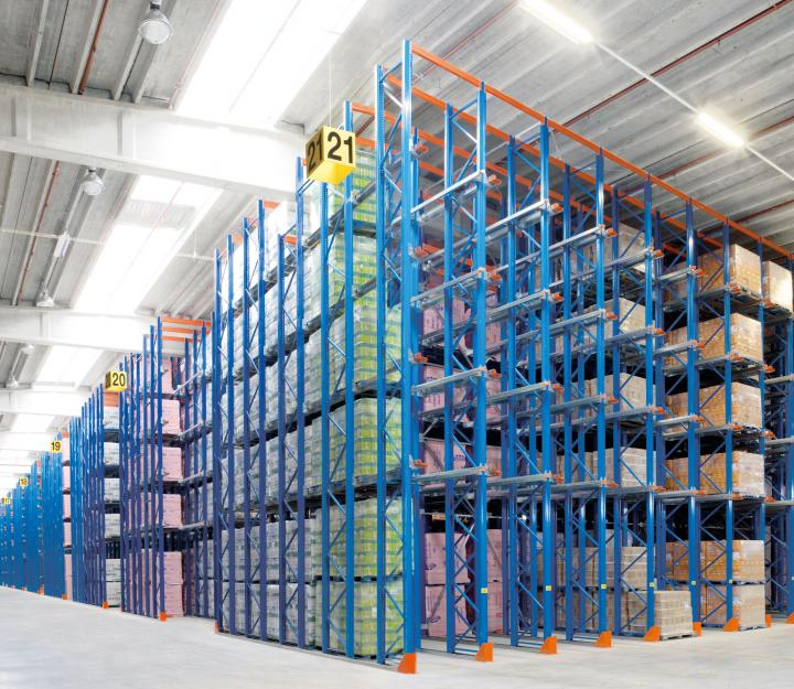 drive-in-racking-food-industry